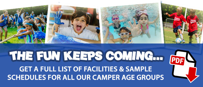 Download a PDF of Facilities and Schedules for all Camper Groups