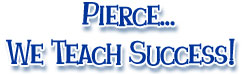 Pierce We Teach Success